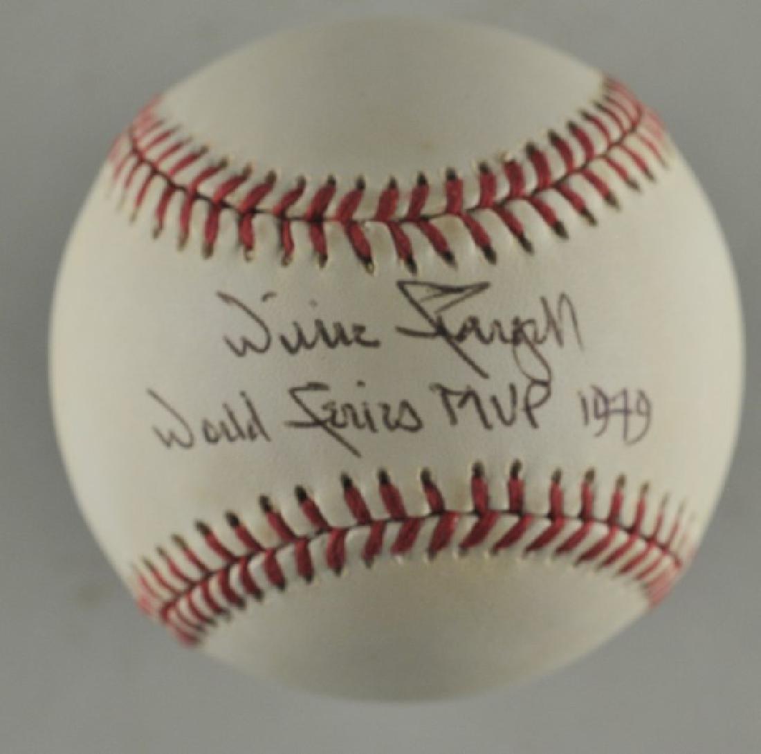 Signed Willie Stargell Baseball w/ COA