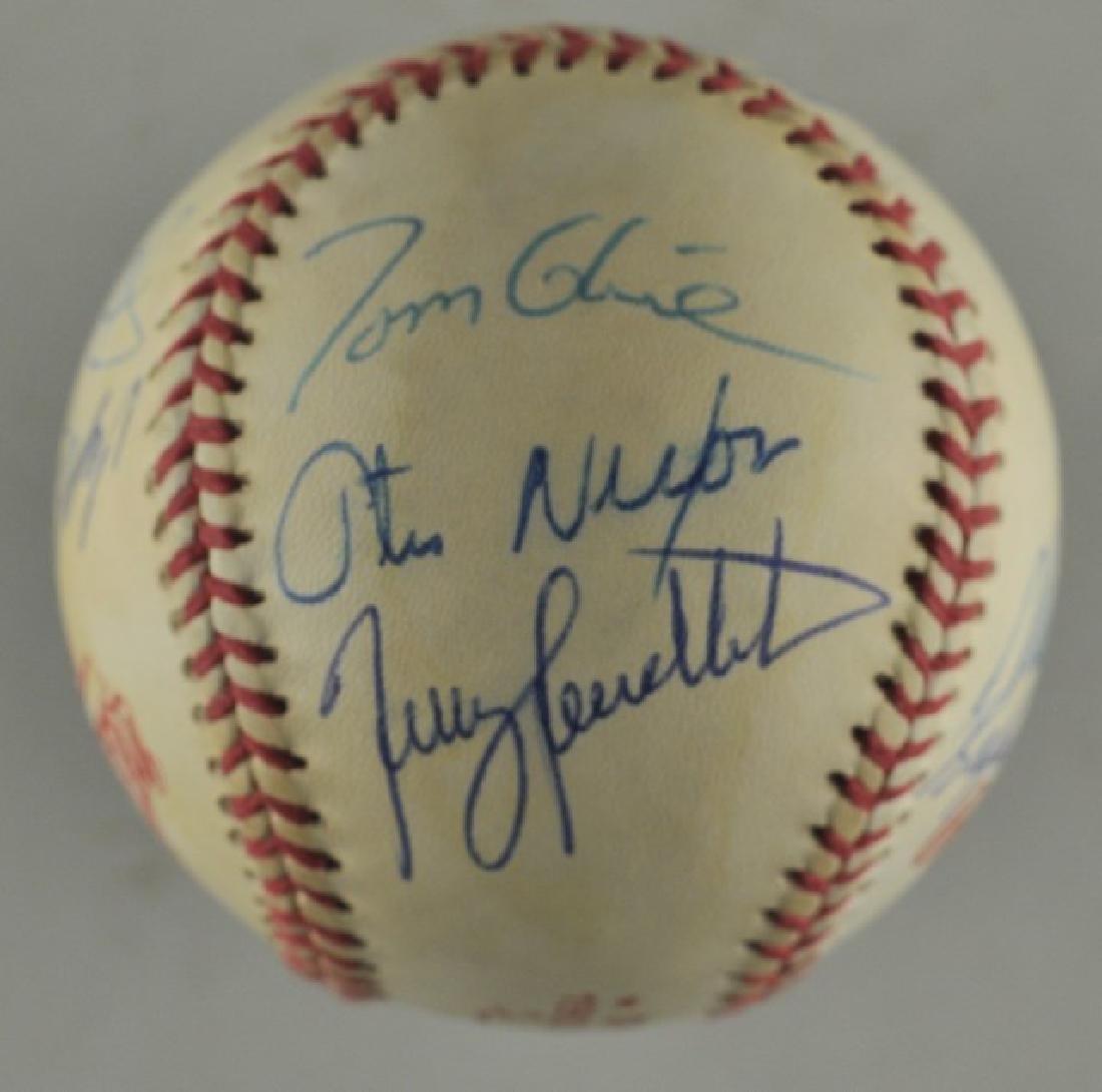 '92 Atlanta Braves World Series Signed Baseball