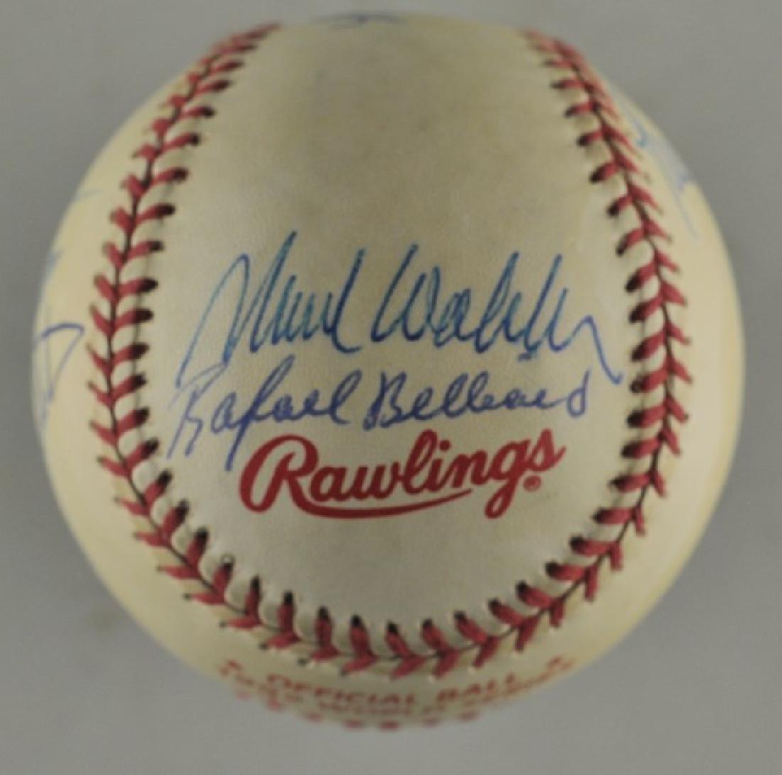 '92 Atlanta Braves World Series Signed Baseball - 2