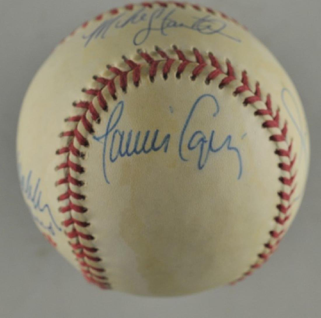 '92 Atlanta Braves World Series Signed Baseball - 3