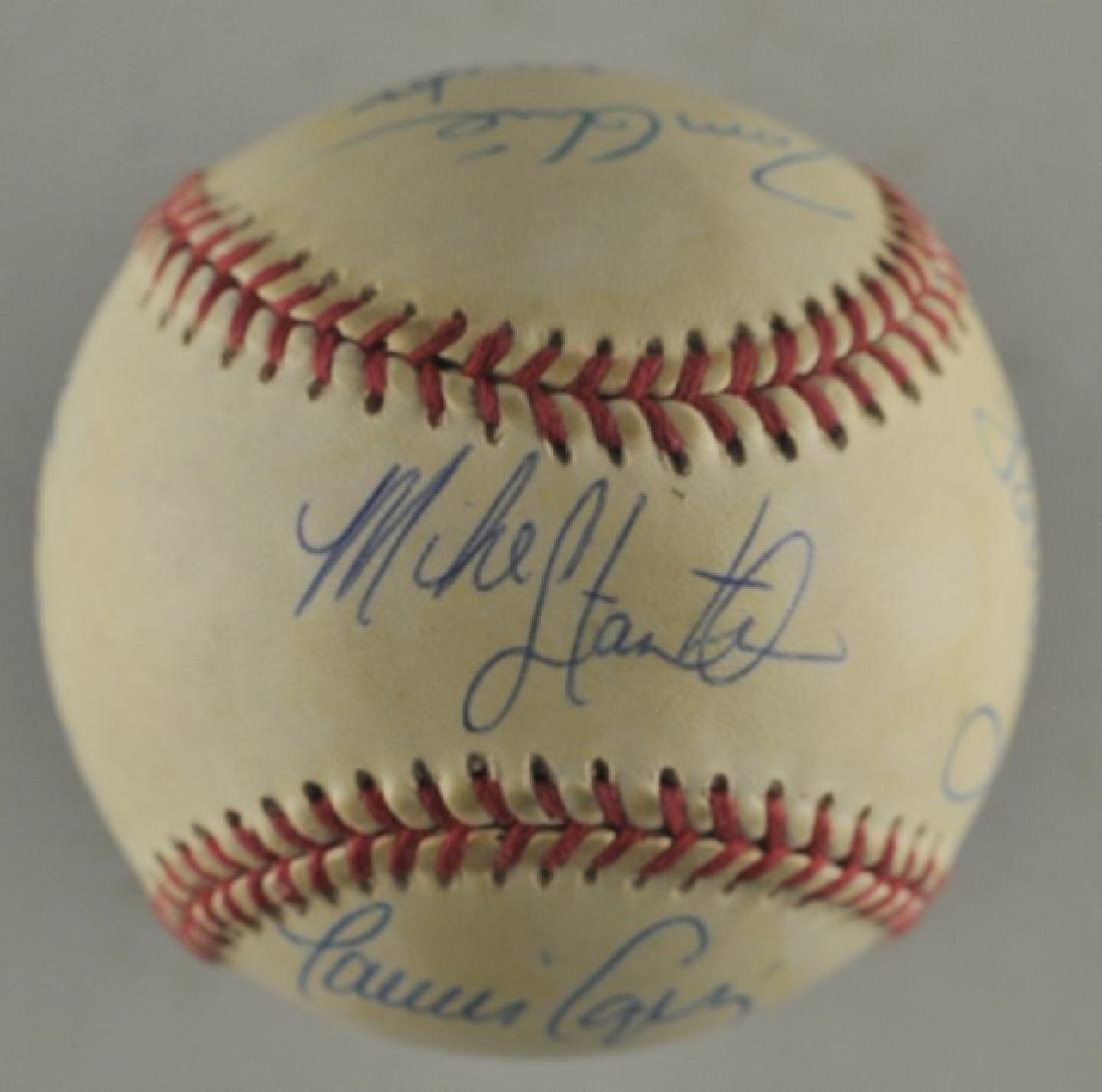 '92 Atlanta Braves World Series Signed Baseball - 5