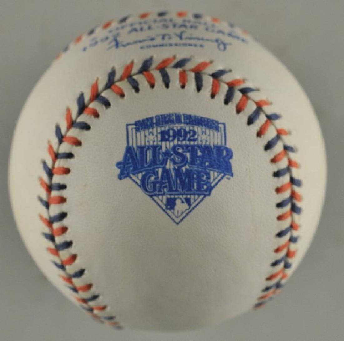 1992 Official All-Star Game Baseball - 2