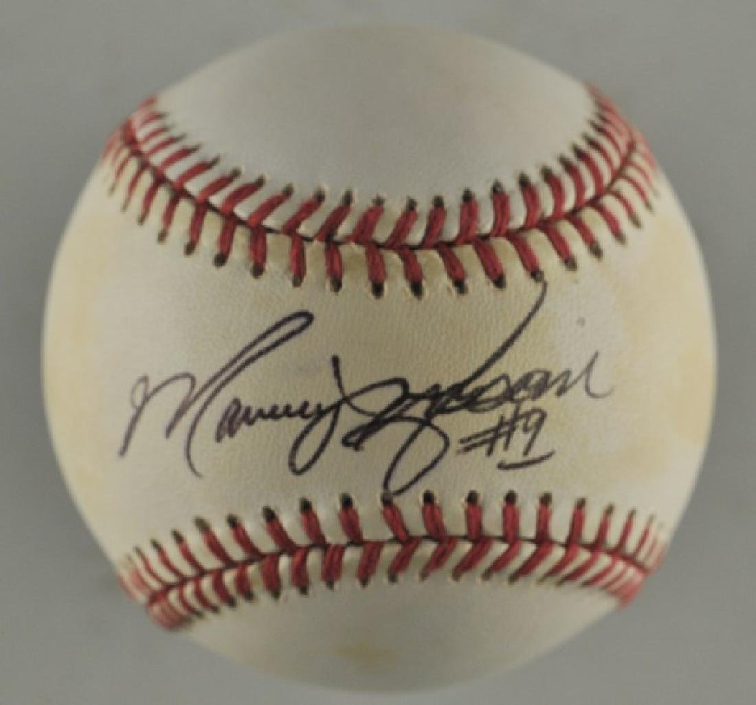 Signed Marquis Grissom Baseball
