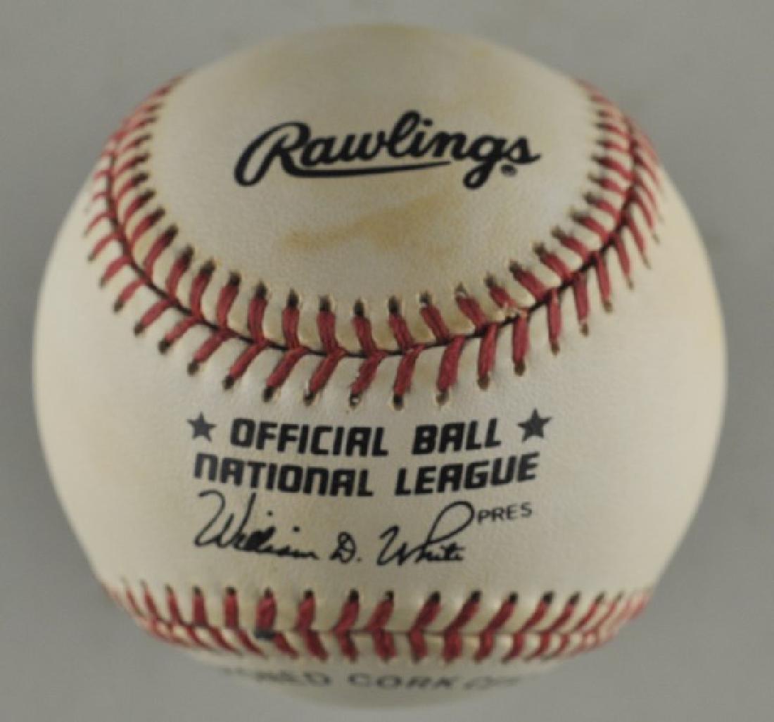 Signed Marquis Grissom Baseball - 2
