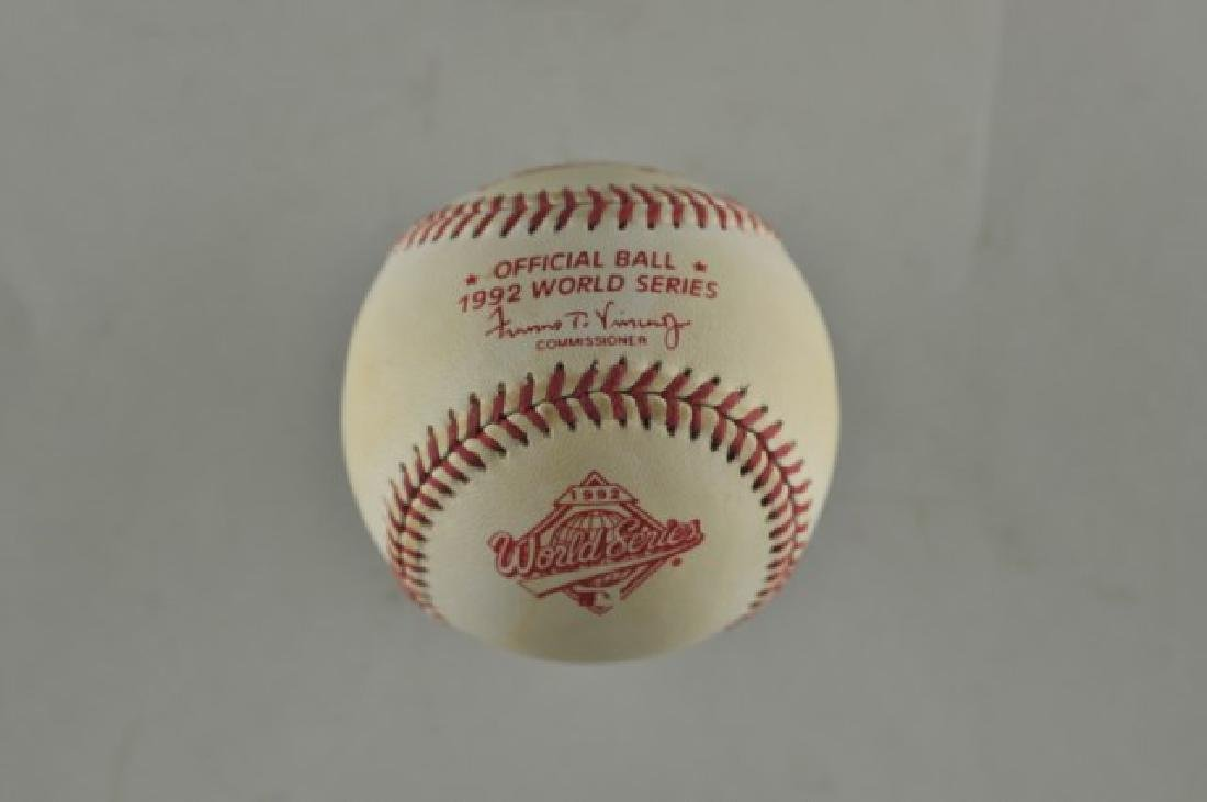 Signed Tom Glavine Baseball - 2