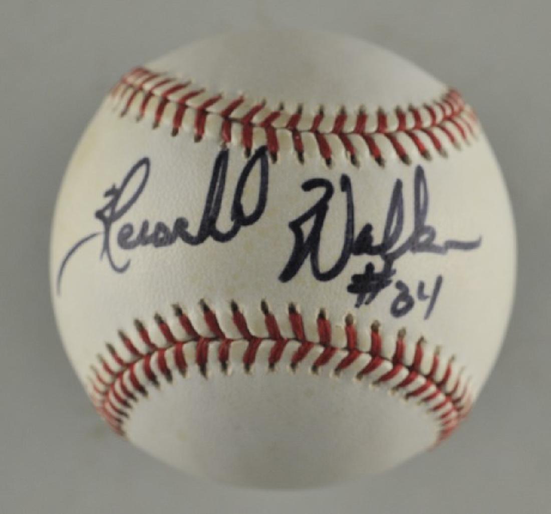 Signed Herschel Walker Baseball