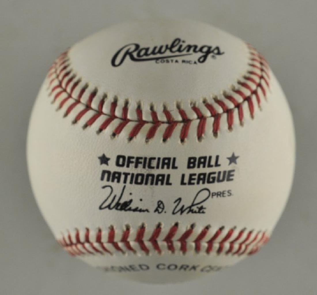 Signed Herschel Walker Baseball - 2
