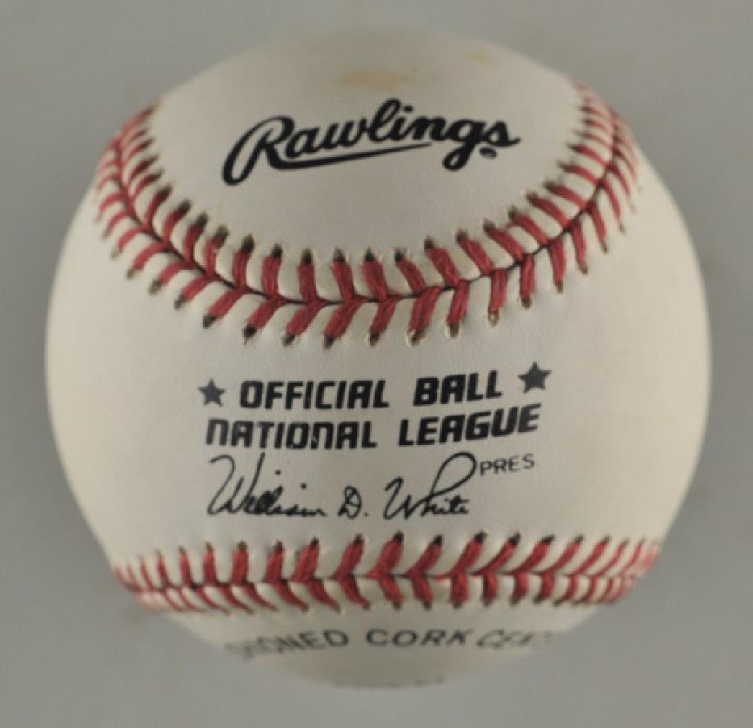 Signed Richard Petty 43 Baseball - 2