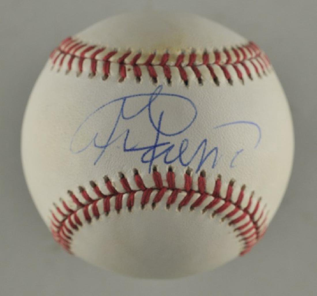 Signed George Foreman Baseball