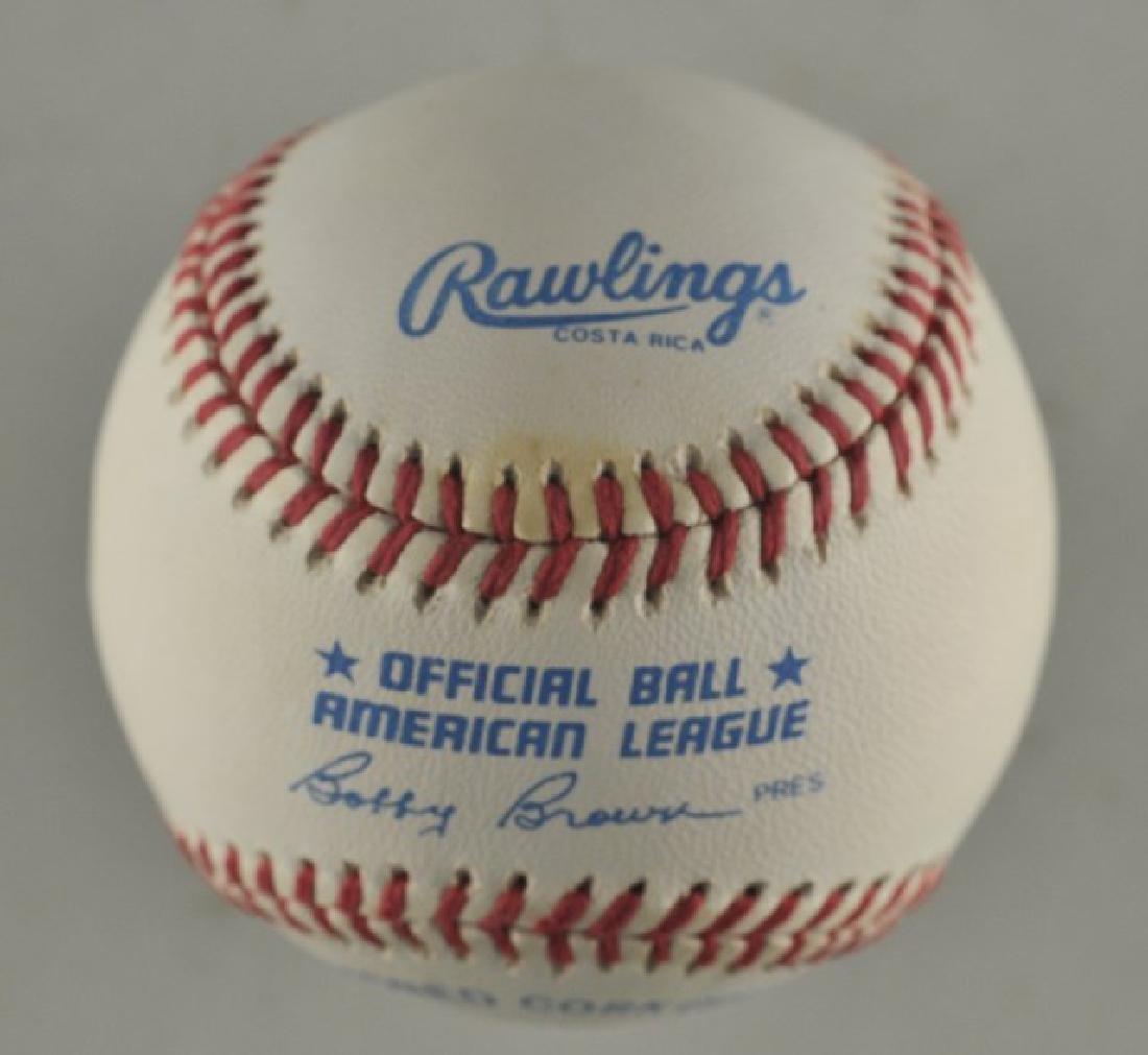 Signed George Foreman Baseball - 2