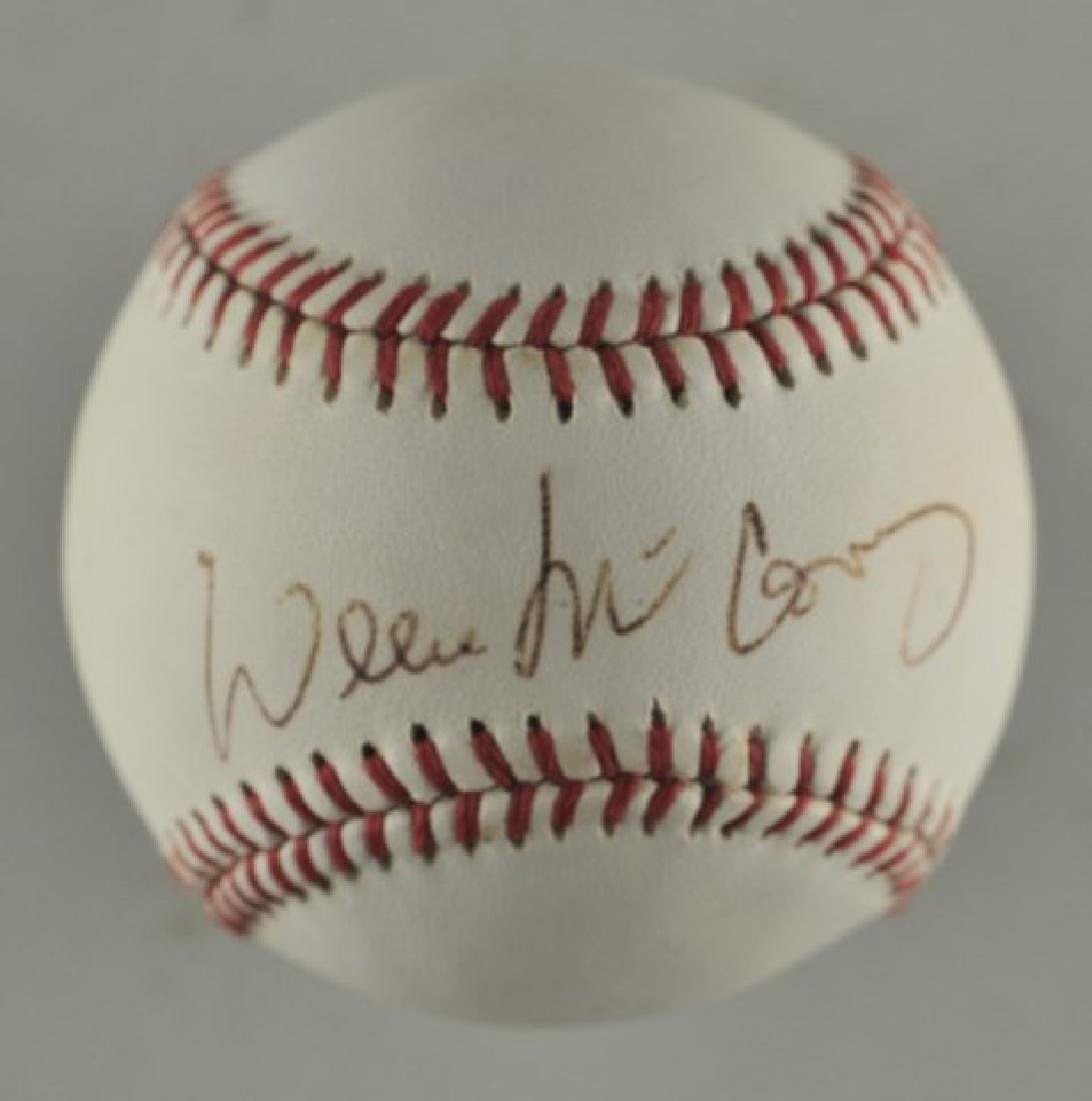 Signed Willie McCovey Baseball