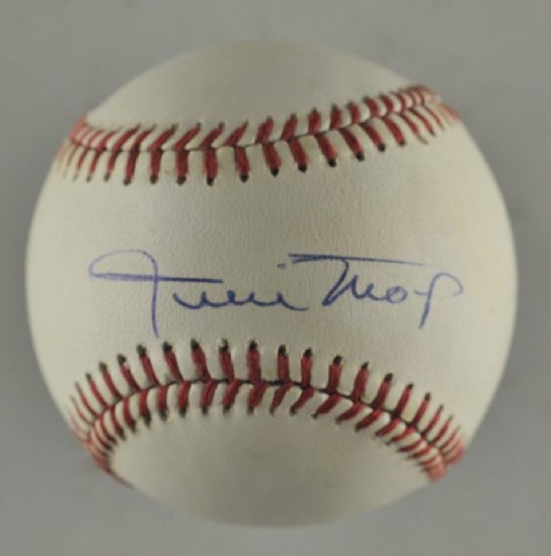 Signed Willie Mays Baseball