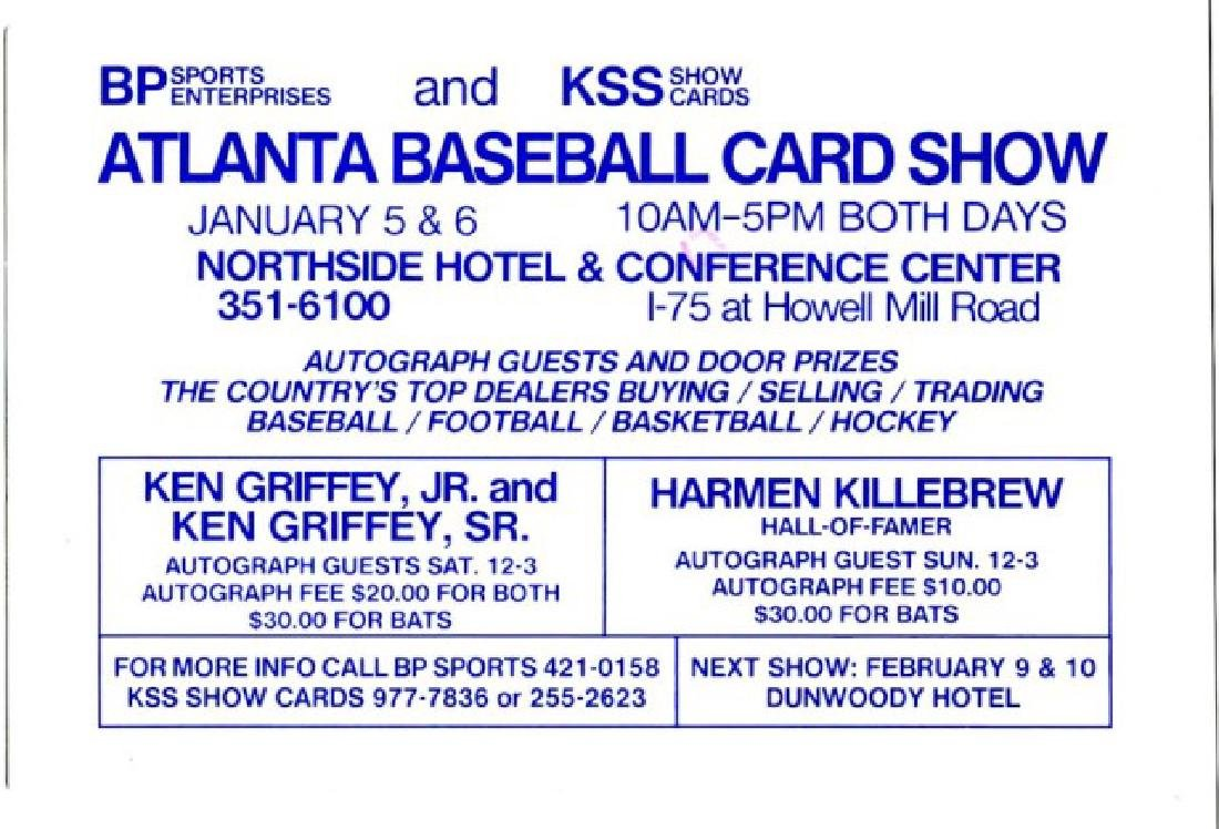 Signed Harmon Killebrew Baseball - 3