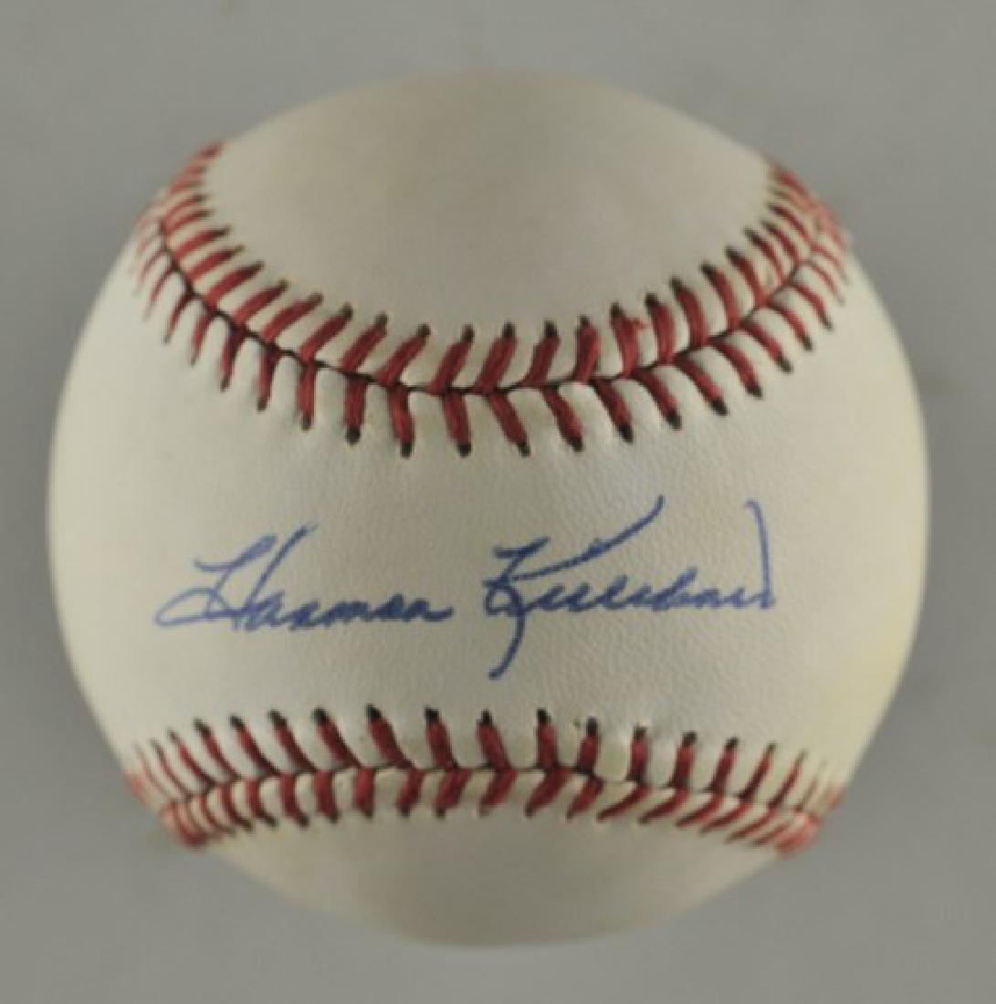 Signed Harmon Killebrew Baseball