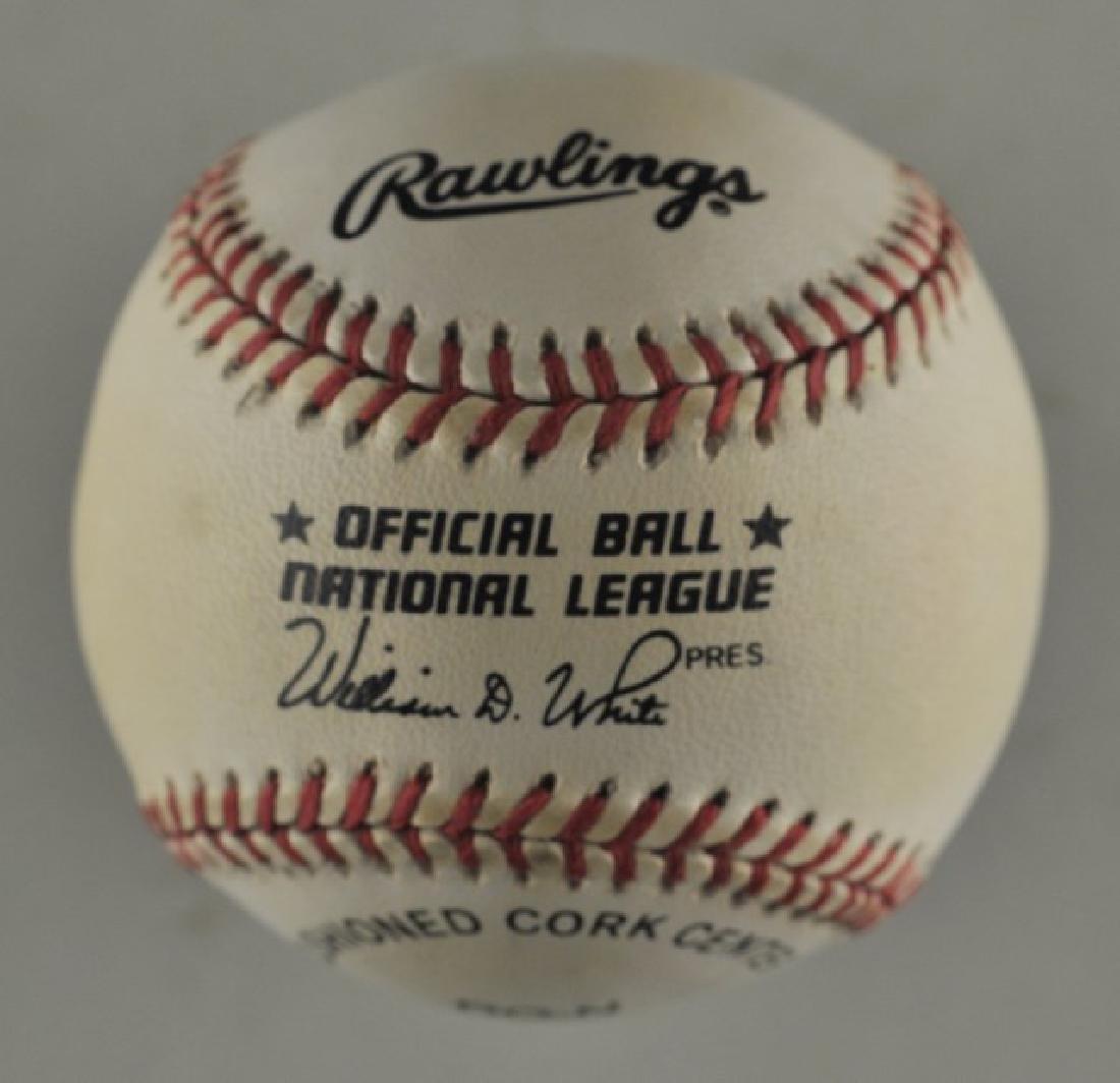 Signed Chipper Jones Baseball - 2