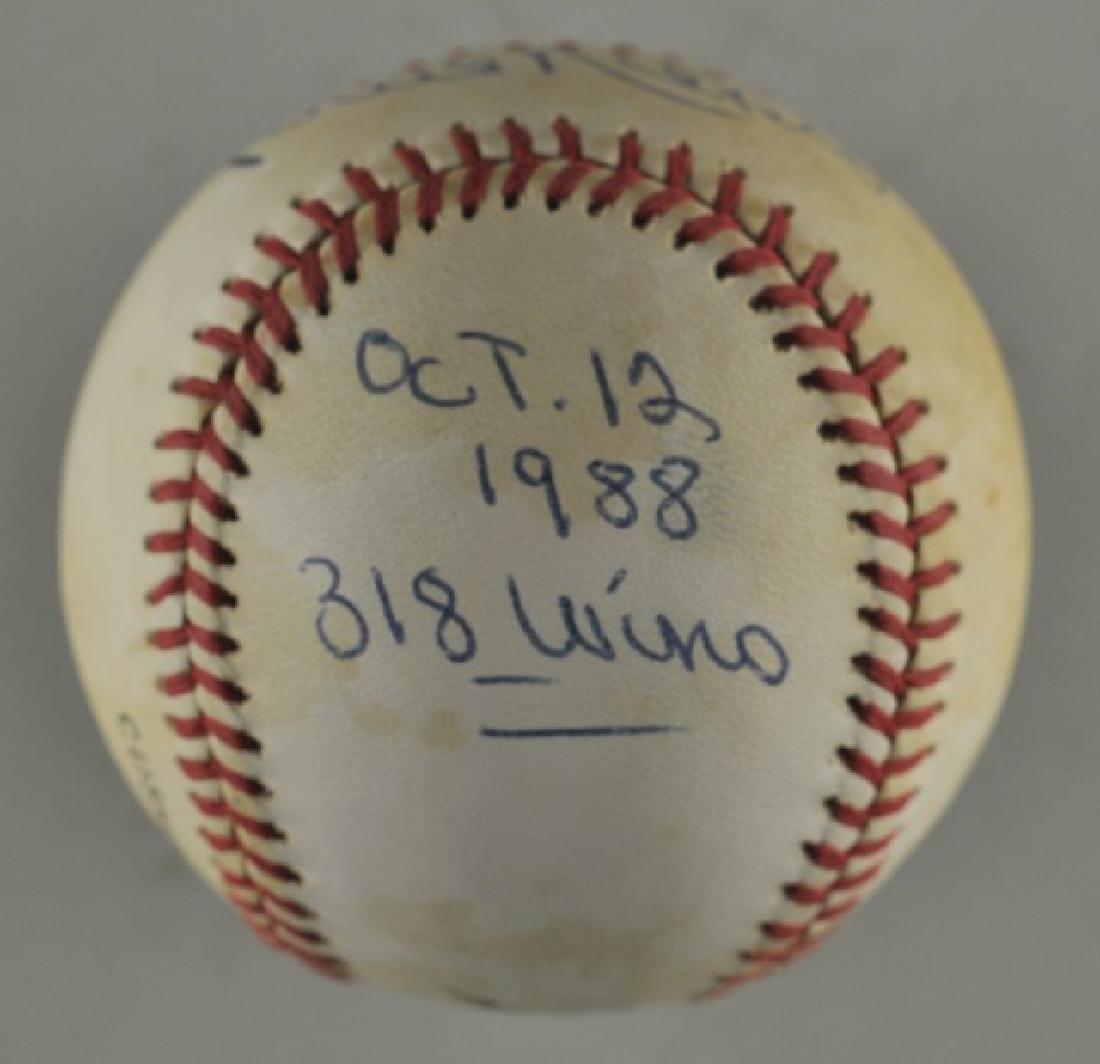 Signed Phil Niekro Baseball - 2