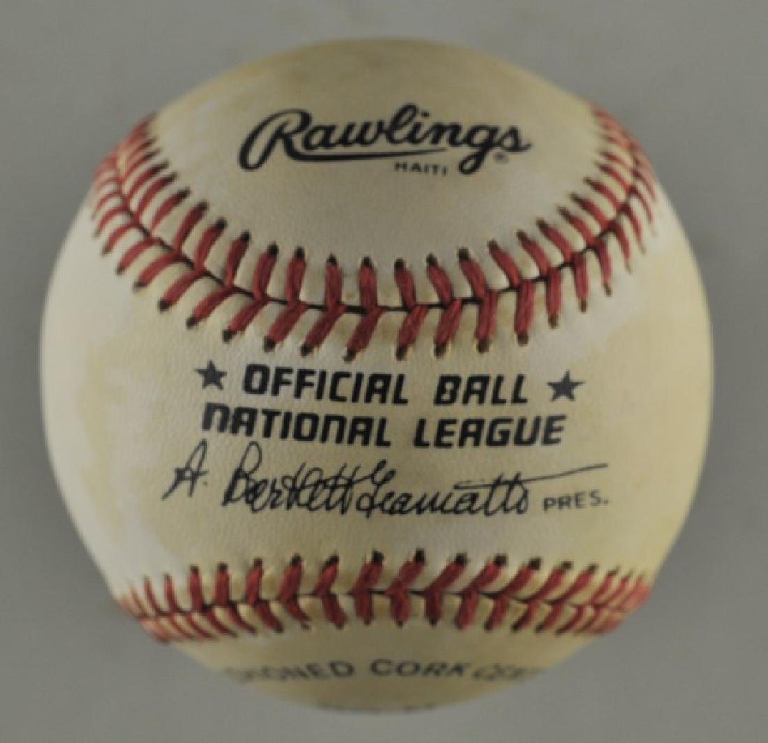 Signed Phil Niekro Baseball - 3