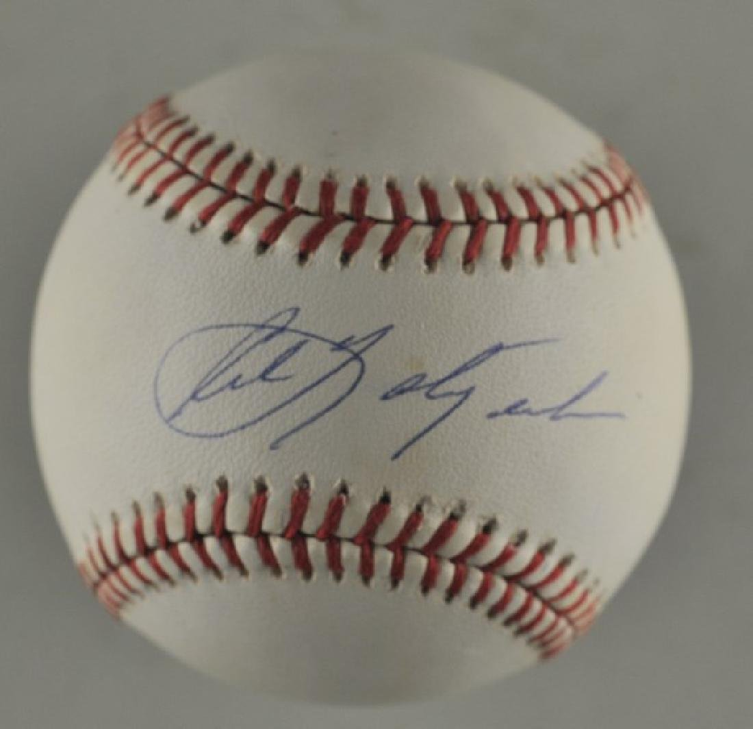 Signed Carl Yastrzemski Baseball
