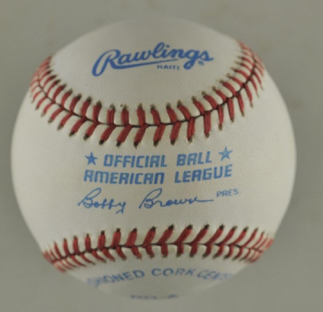 Signed Mickey Mantle Baseball - 2