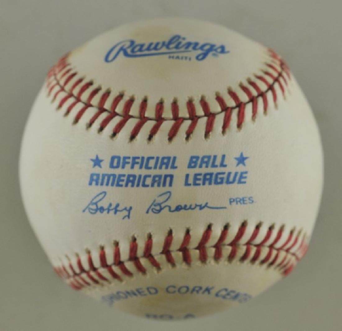 Signed Mickey Mantle Baseball - 2