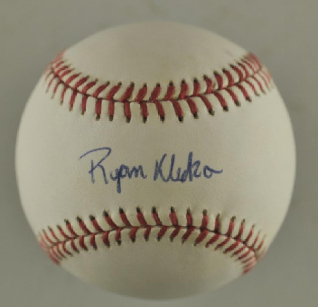 Signed Ryan Klesko Baseball