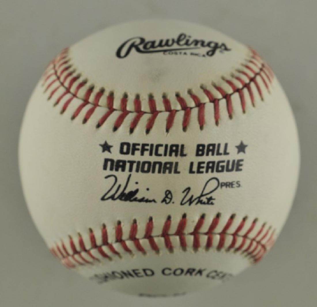 Signed Ryan Klesko Baseball - 2