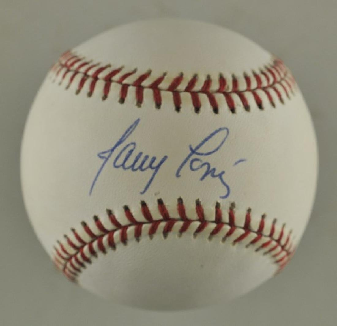 Signed Javier Lopez Baseball