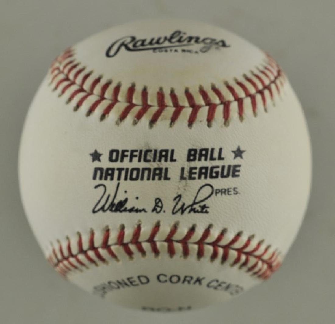 Signed Javier Lopez Baseball - 2