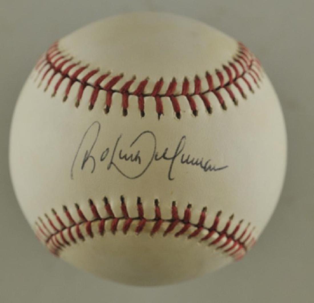 Signed Roberto Alomar Baseball