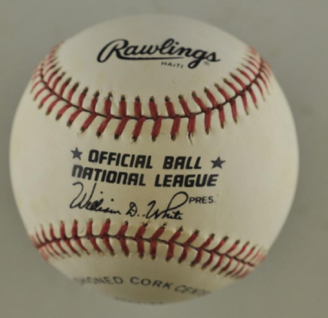 Signed Roberto Alomar Baseball - 2