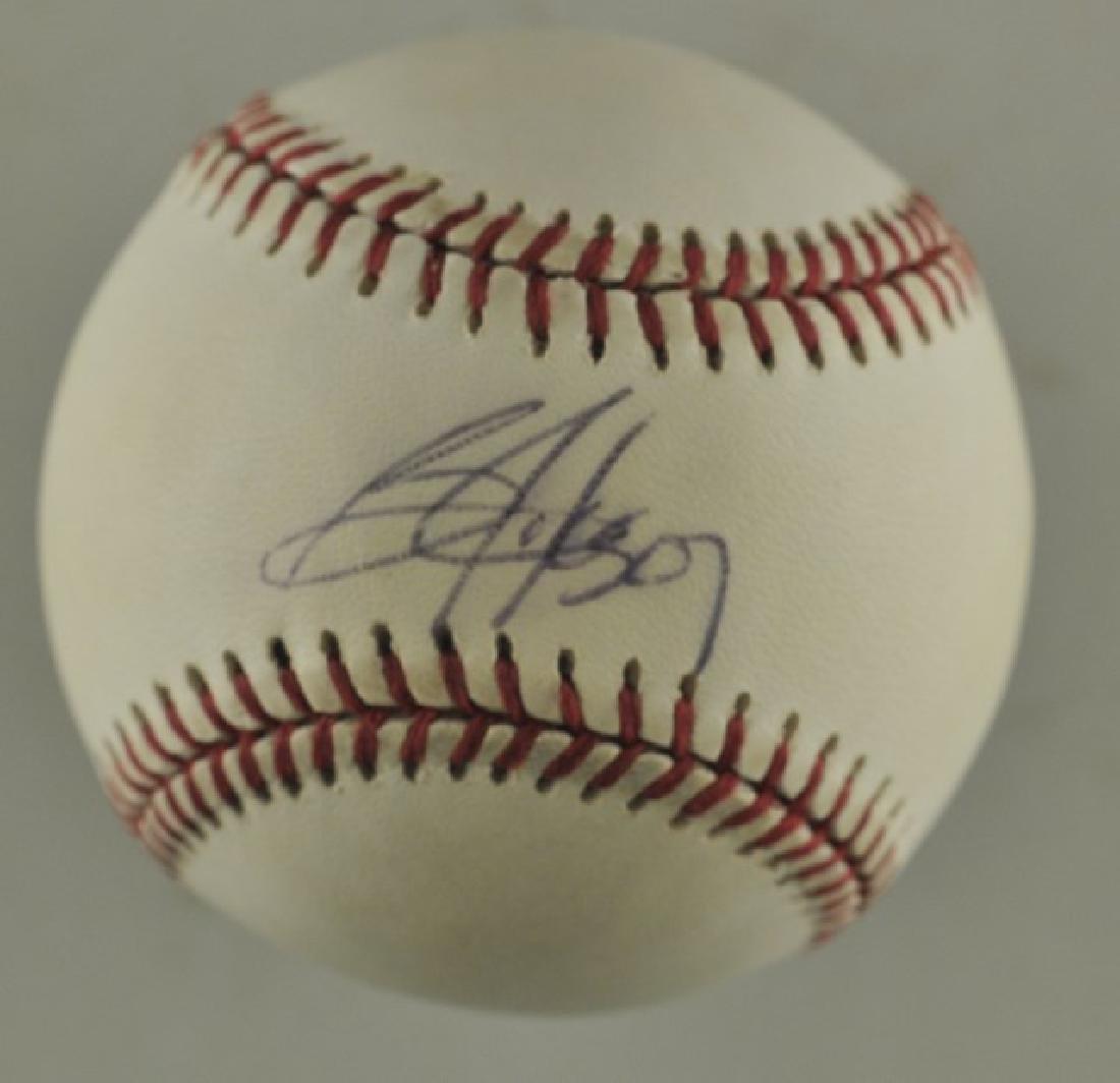 Signed Bo Jackson Baseball