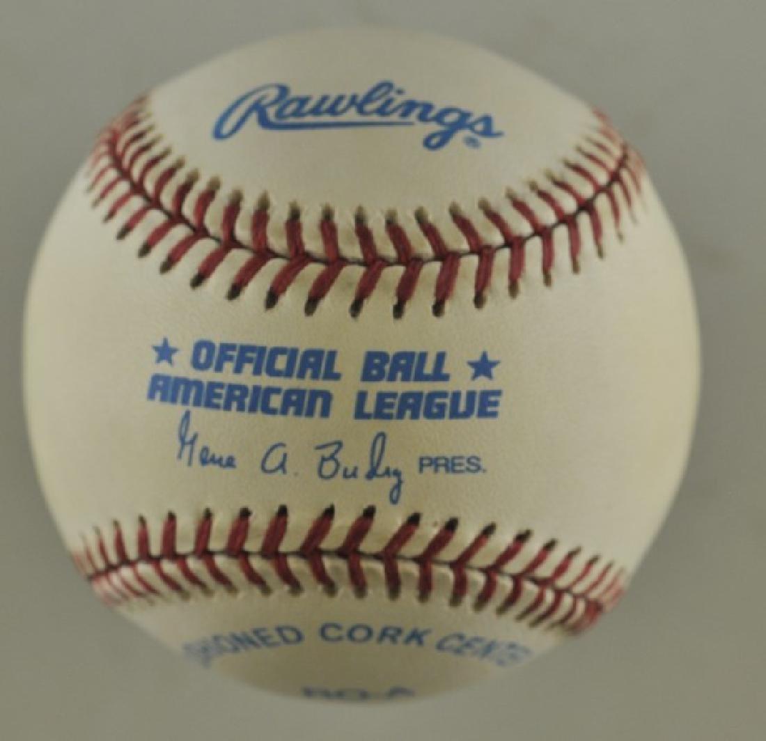 Signed Bo Jackson Baseball - 2