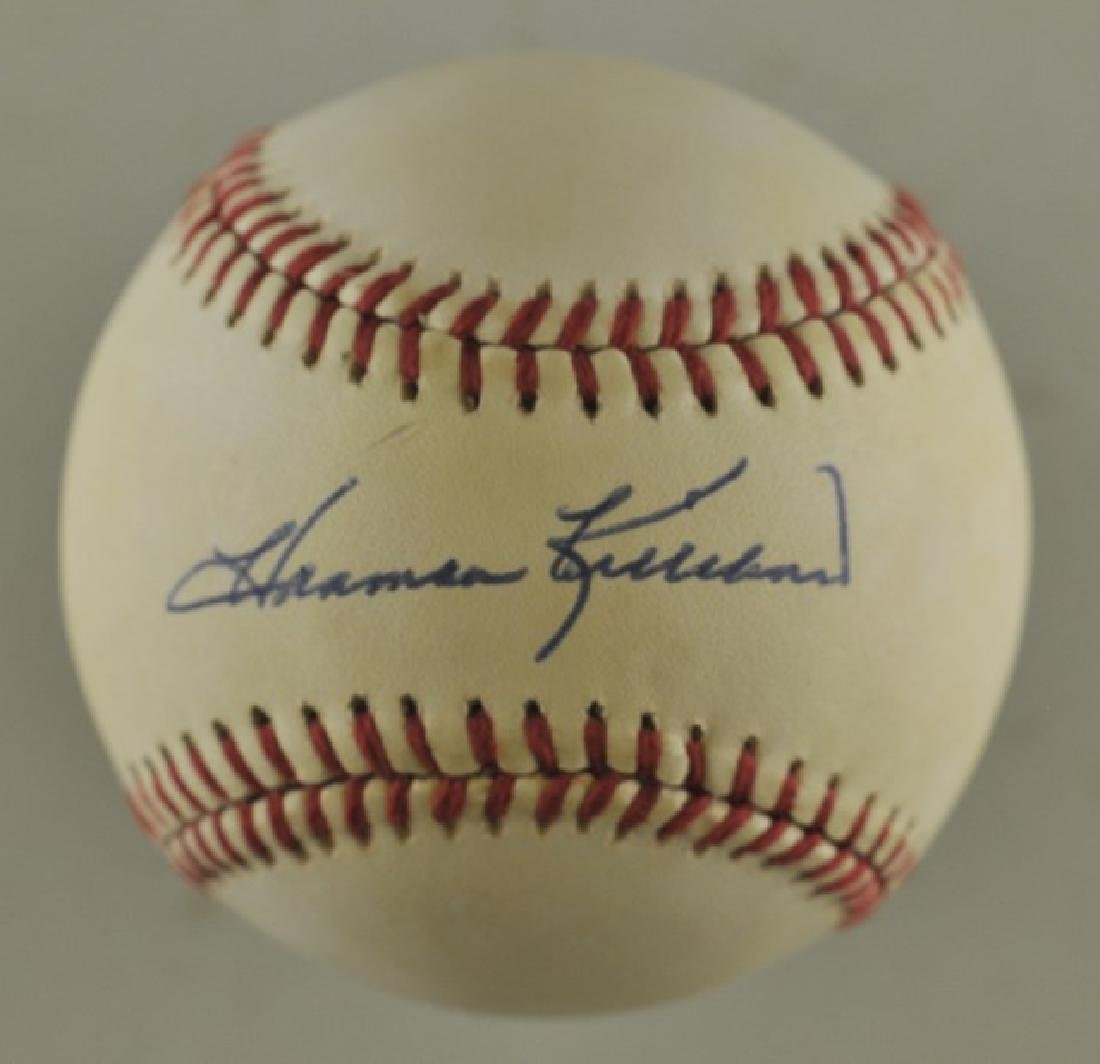Signed Harmon Killibrew Baseball