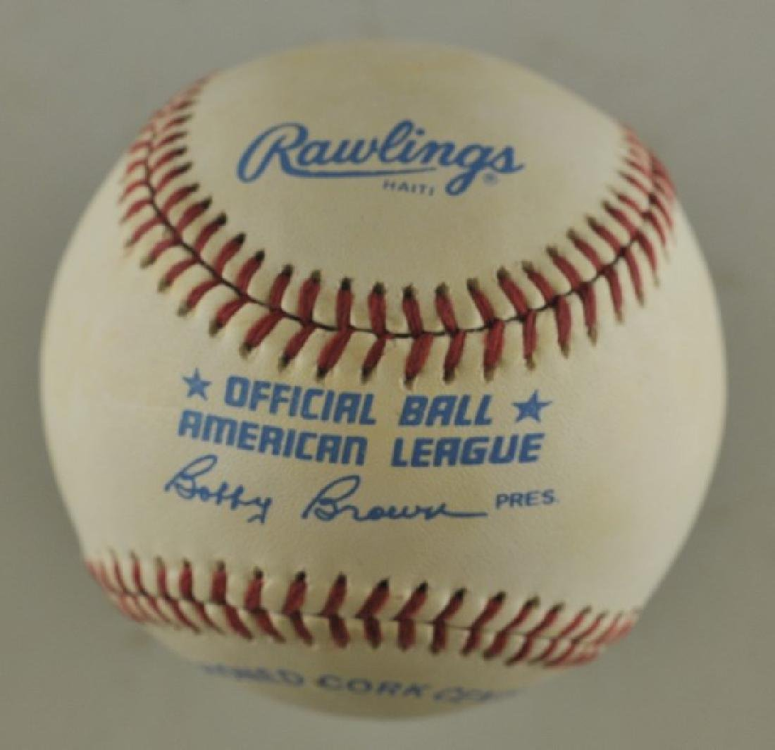 Signed Harmon Killibrew Baseball - 2