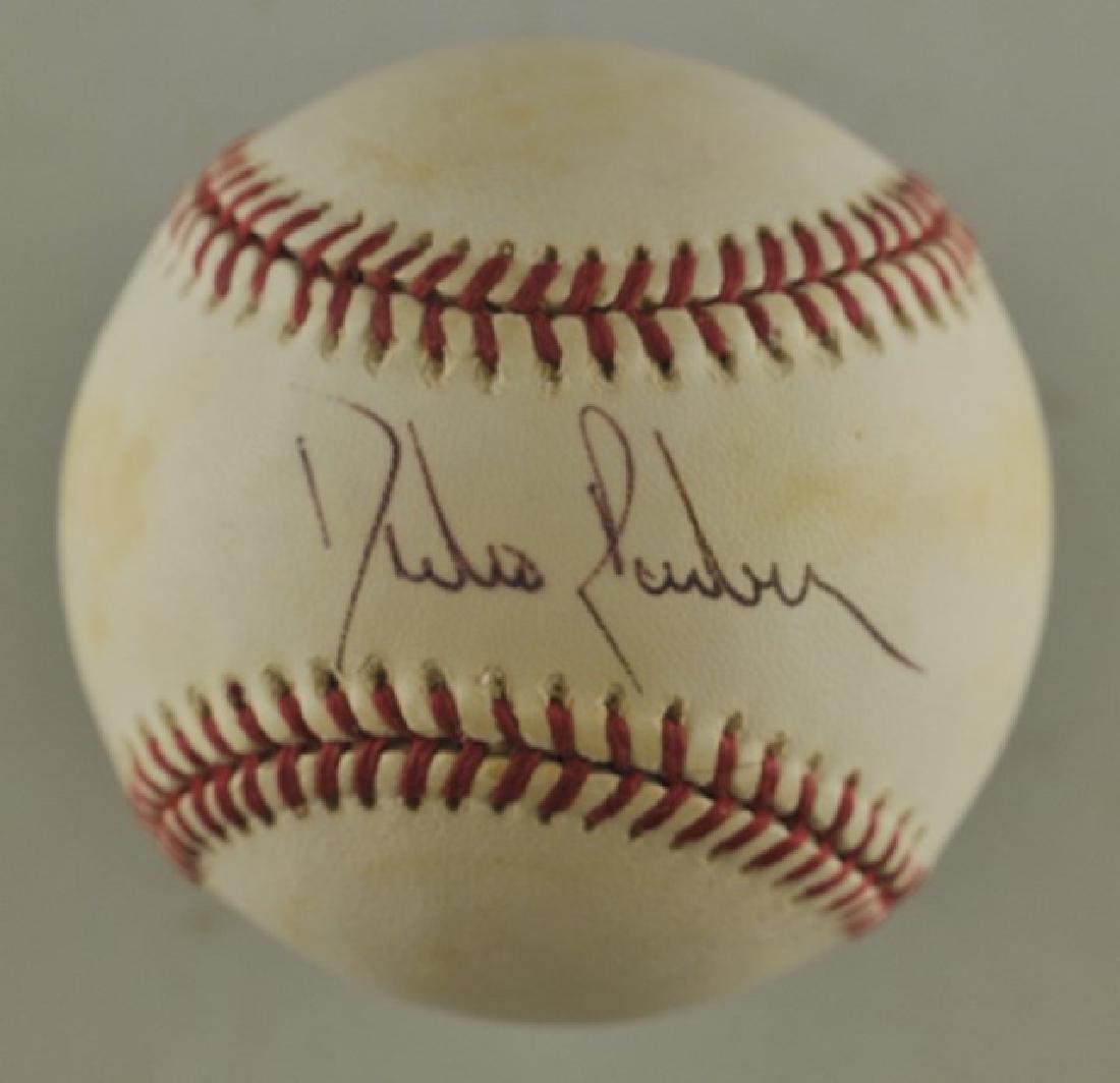 Signed Pedro Borbon Baseball