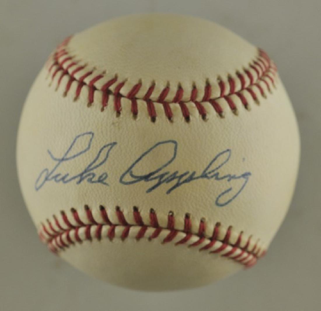 Signed Luke Appling Baseball