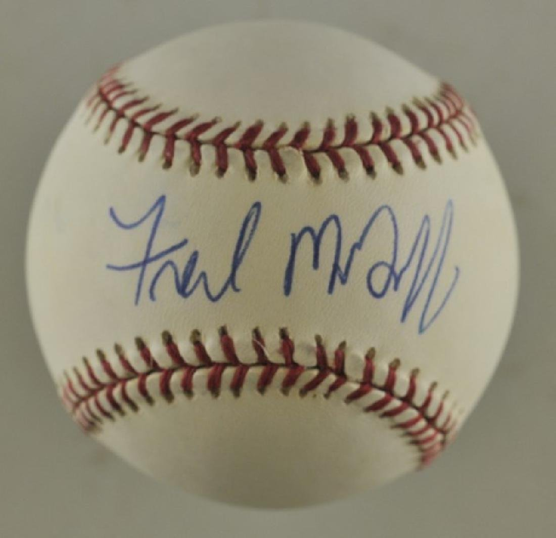 Signed Fred McGriff Baseball