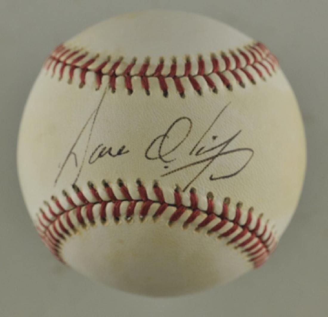 Signed Jose Oliva Baseball