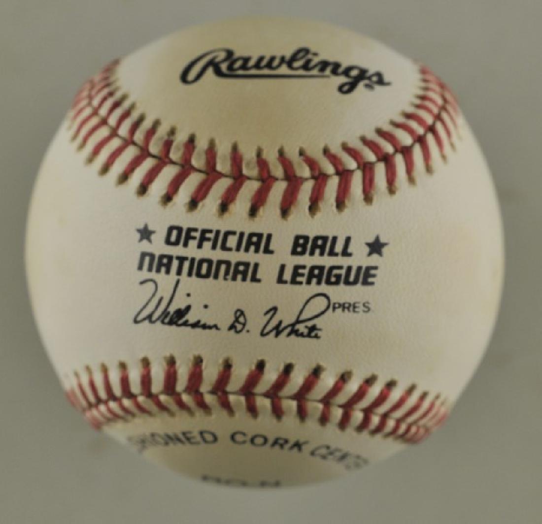 Signed Jose Oliva Baseball - 2
