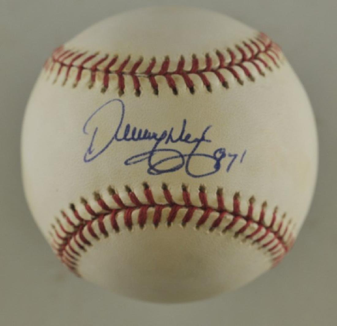 Signed Denny Neagle Baseball