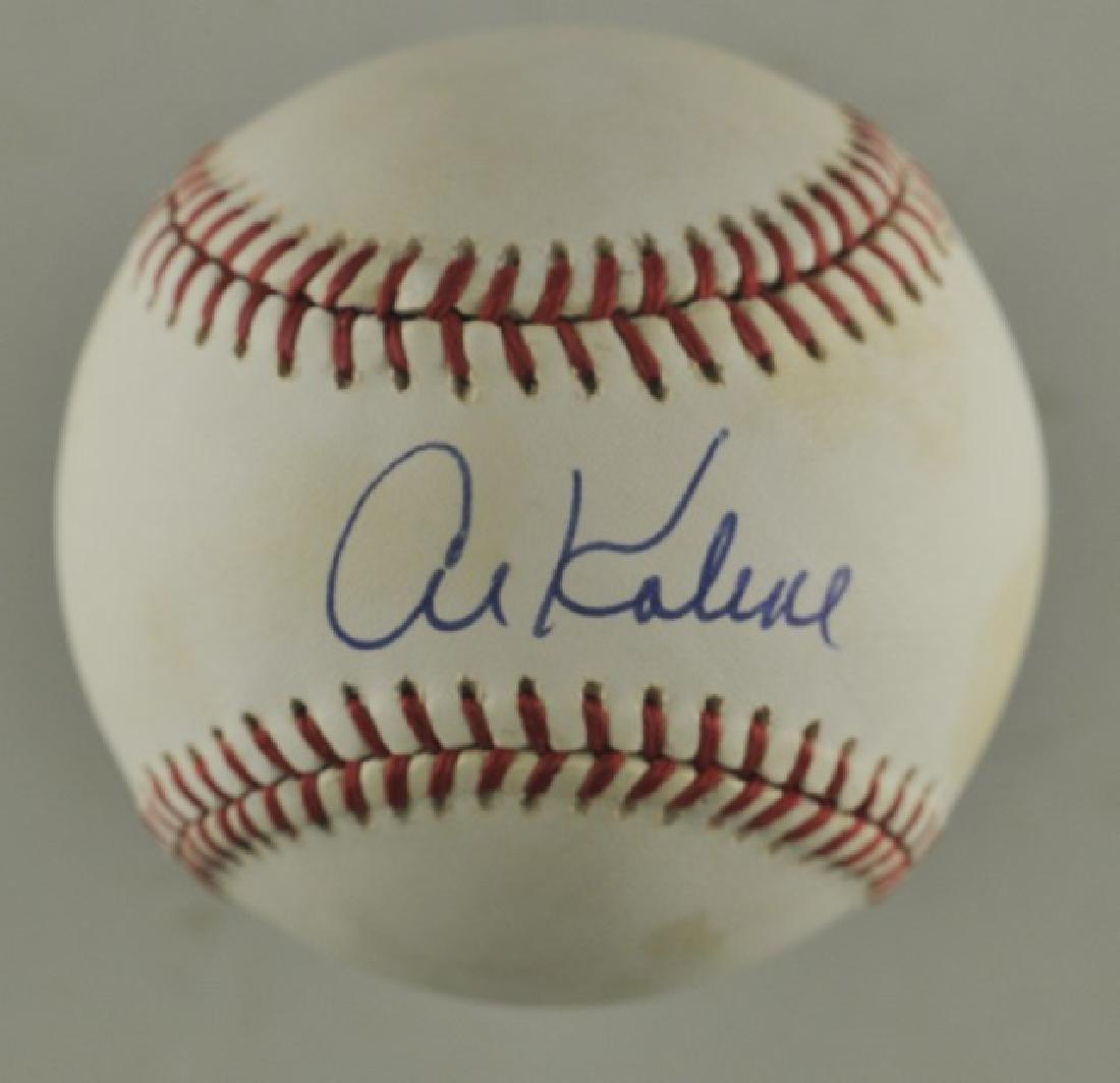 Signed Al Kaline Baseball