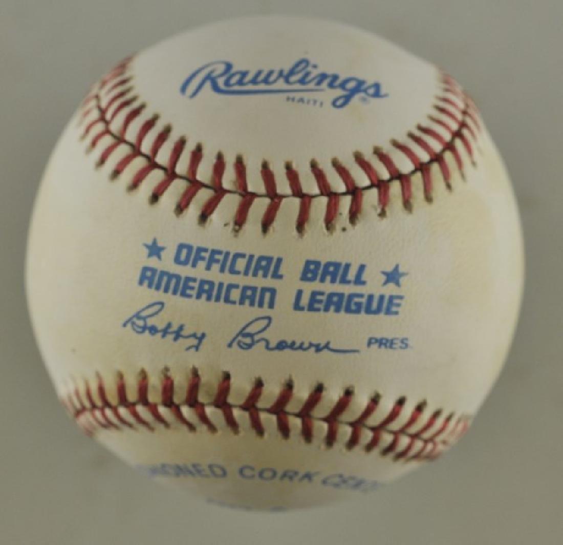 Signed Al Kaline Baseball - 2