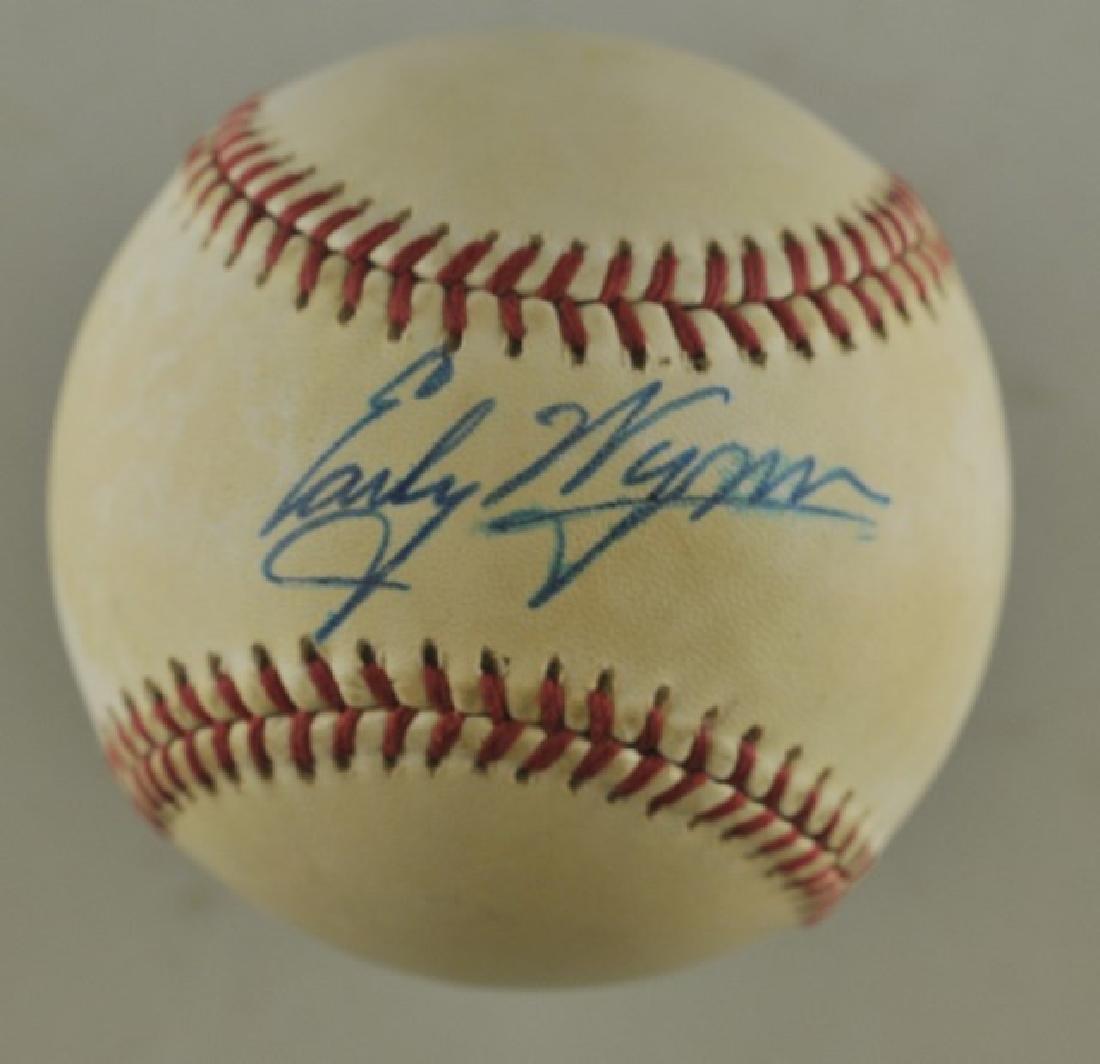Signed Early Wynn Baseball