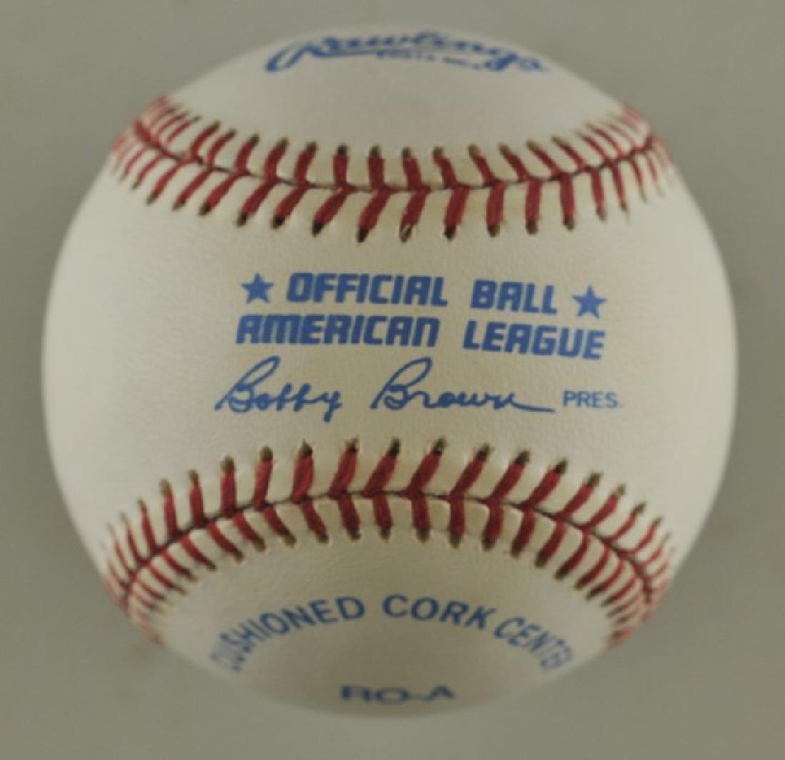 Signed Charlie Gehringer Baseball - 2