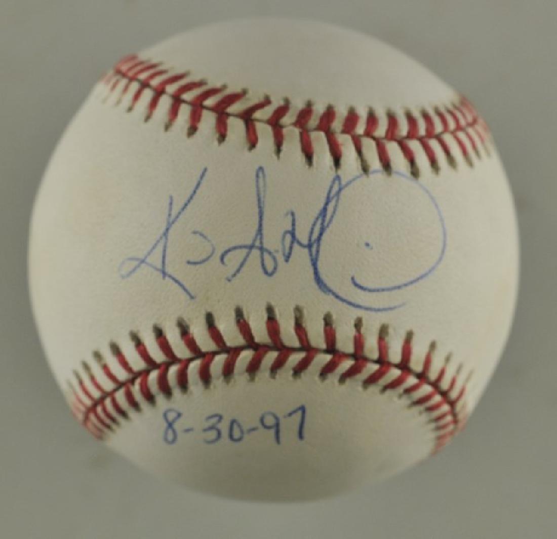 Signed Kevin Millwood Baseball