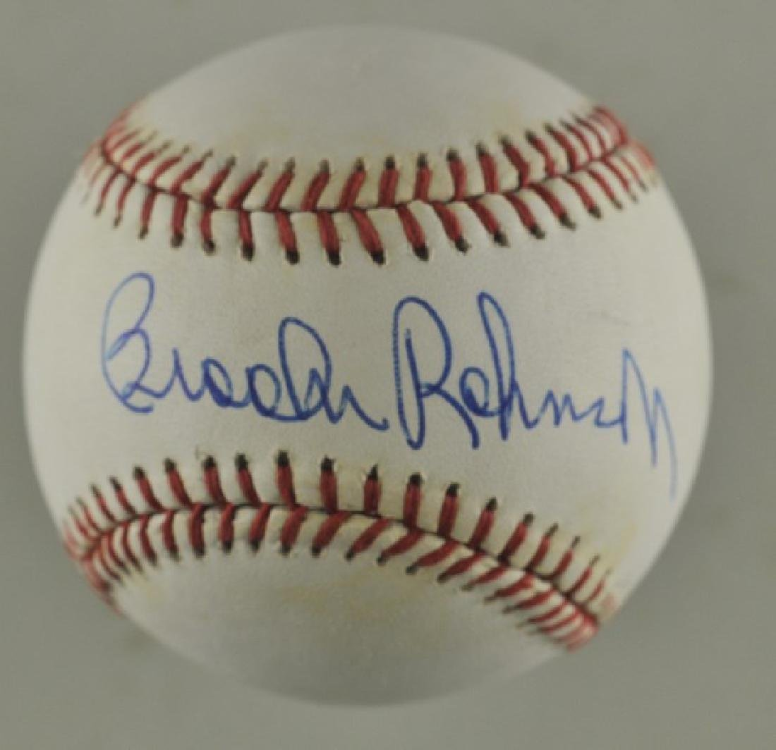 Signed Brooks Robinson Baseball