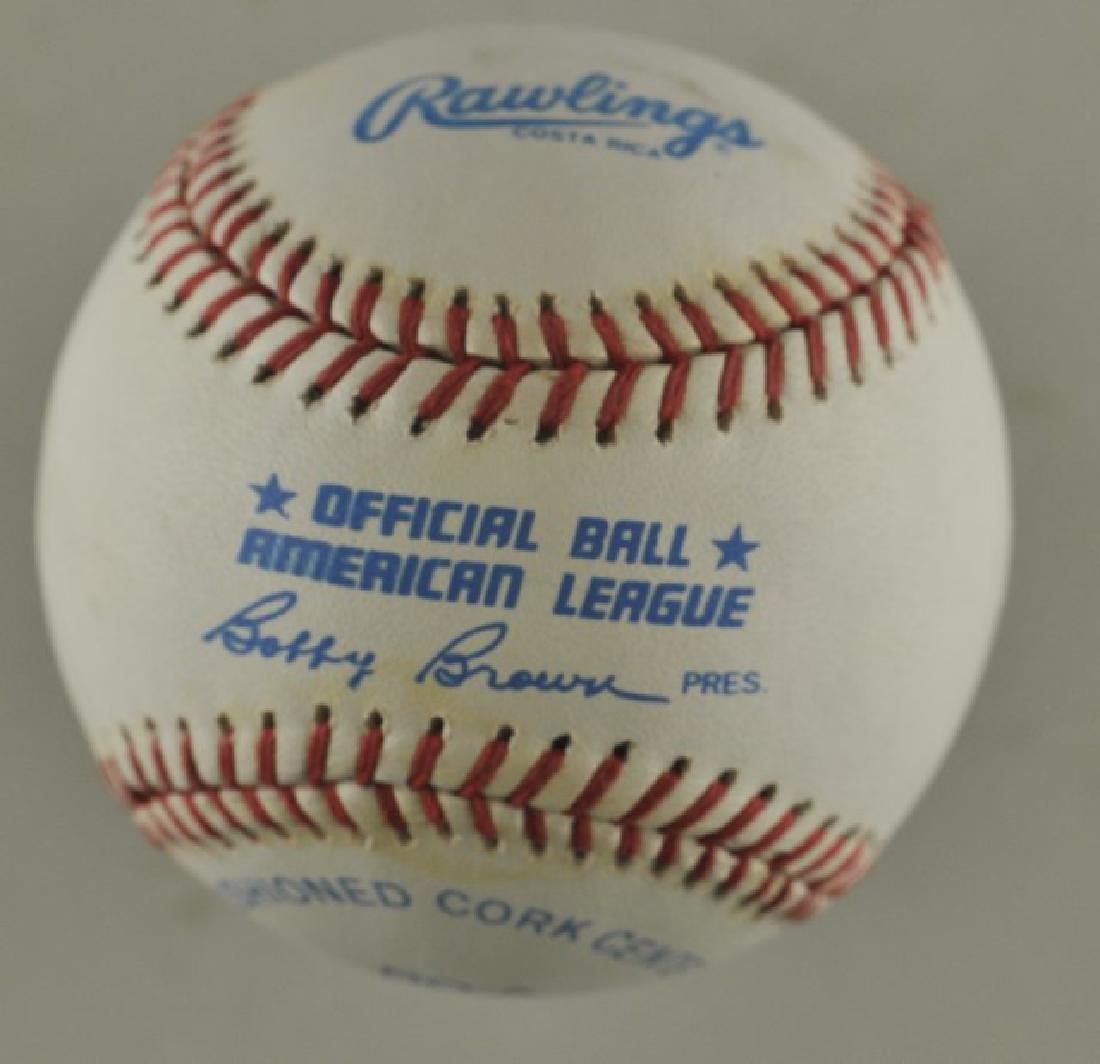 Signed Brooks Robinson Baseball - 2