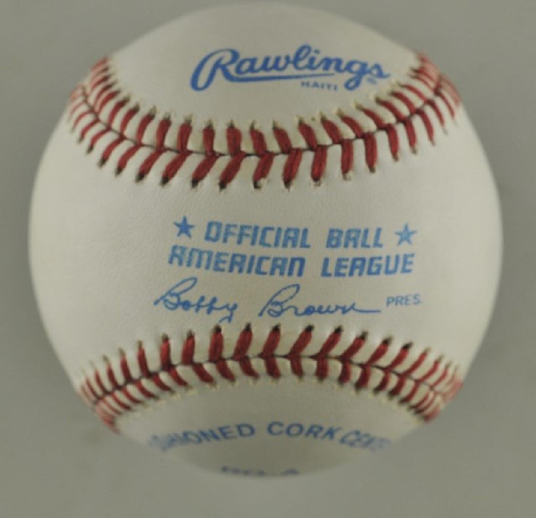Signed Whitey Ford Baseball - 2