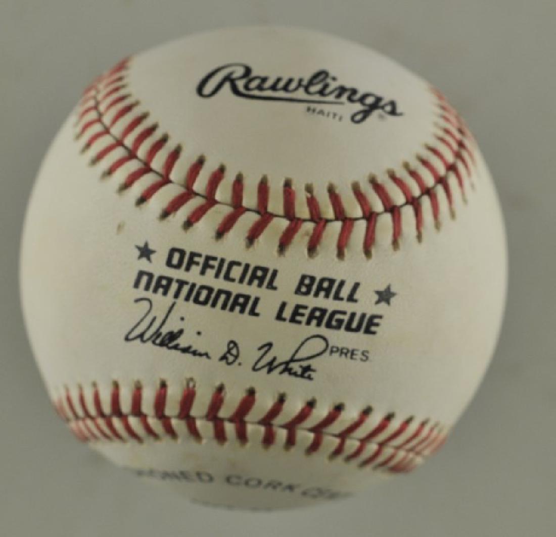 Signed Ernie Banks Baseball - 2