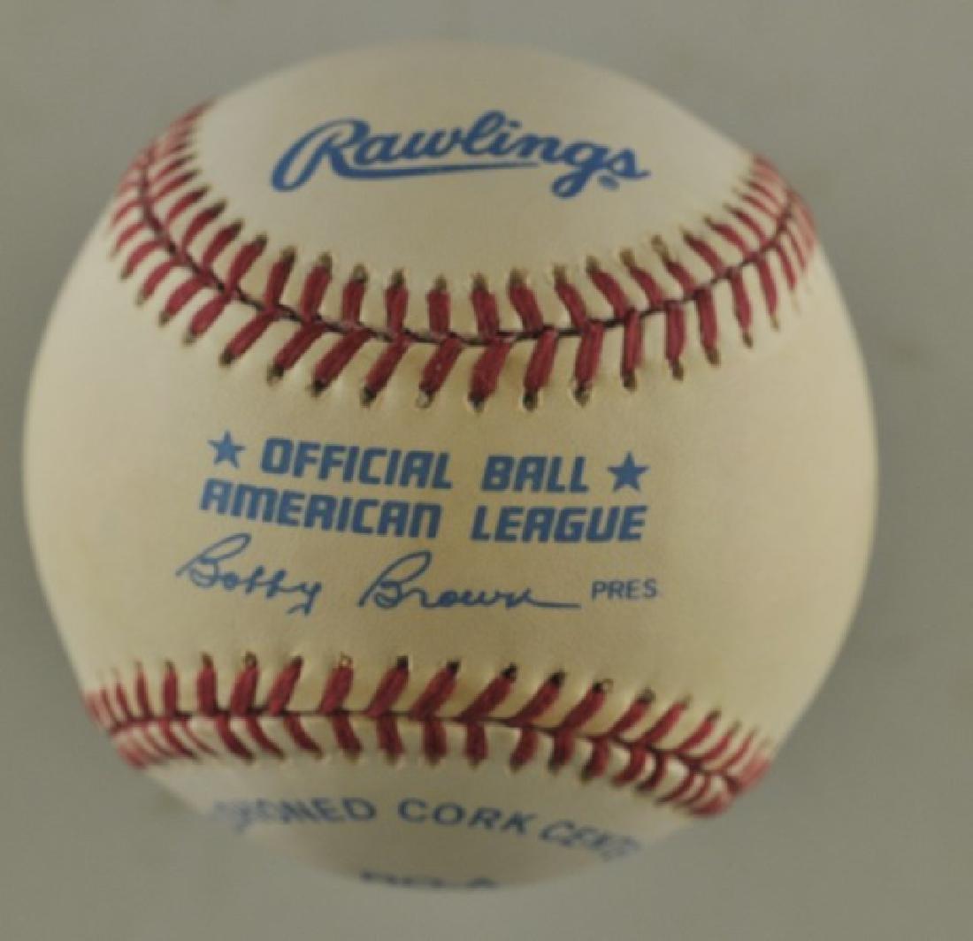 Signed Dave Stewart Baseball - 2